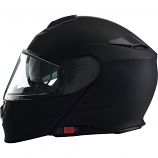 Z1R Solaris Solid Snow Helmets with Dual Lens Shield