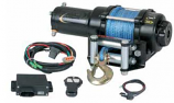 Quadrax 2600 ATV Winch with Wireless Remote and Synthetic Rope