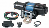 Quadrax 3600 ATV Winch with Wireless Remote and Synthetic Rope