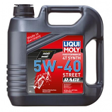 Liqui Moly 4T Synth SAE Street Motor Oil - 5W-40