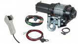 Quadrax 2600LBS ATV Winch With Wired Remote