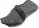 Saddlemen Extended Reach Heated Road Sofa LS Seat without Drivers Backrest