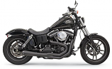 Bassani Manufacturing Road Rage II Mega Power 2-Into-1 Exhaust System