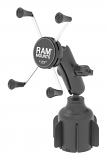 Ram Mounts Stubby Cup Holder Mount with Universal X-Grip Large Phone Holder