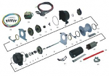 Quadrax Wiring Assembly for Winch 2600
