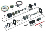 Quadrax Drum Assembly for Winch 3600