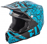 Fly Racing F2 Carbon Fracture Helmets