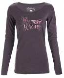 Fly Racing Nomad Long Sleeve Womens T-Shirt