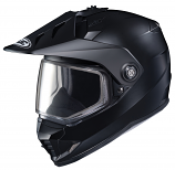 HJC DS-X1 Solid Snow Helmets with Dual Lens Shield