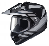 HJC DS-X1 Lander Snow Helmets with Dual Lens Shield