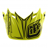 Troy Lee Designs Replacement Visor for SE4 Polyacrylite Pinstripe Helmet