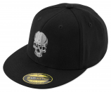 Black Brand Skull Flex Hat