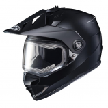 HJC DS-X1 Semi-Flat Snow Helmet with Dual Lens Shield