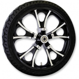 Coastal Moto Precision Cast Atlantic 3D Front Wheel with Tire