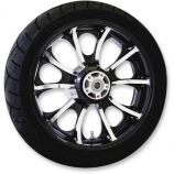 Coastal Moto Precision Cast Atlantic 3D Rear Wheel with Tire