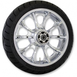 Coastal Moto Precision Cast Largo 3D Rear Wheel with Tire
