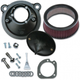 S&S Cycle Super Stock Stealth Air Cleaner Kit for Stock Engines