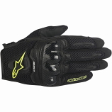 Alpinestars Stella SMX-1 Air Womens Gloves (Black/Yellow Flourescent / XS) [Warehouse Deal]