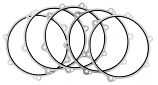 Twin Power Primary Spacer Gaskets