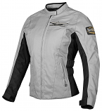 Honda COLLECTION Gold Wing Textile Touring Womens Jacket (Gray / XL) [Warehouse Deal]