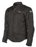 Fly Racing Flux Air Mesh Jacket (Black / XL) [Warehouse Deal]