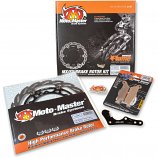 Moto-Master 270MM Flame Rotor/Brake Pad Kit