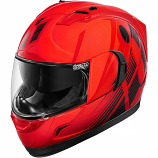 Icon Alliance GT Primary Helmet (Red / Md) [Warehouse Deal]