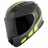 Speed & Strength SS3000 Lightspeed Helmet (Hi-Vis Yellow/Black / Lg) [Warehouse Deal]