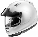 Arai HELMETS Defiant Pro-Cruise Solid Helmet (Lg / White) [Warehouse Deal]