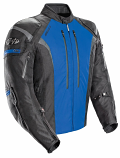 Joe Rocket Atomic 5.0 Jacket (Black/Blue / XL) [Warehouse Deal]