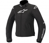 Alpinestars Stella T-Jaws WP Womens Jacket (Black/White / 2XL) [Warehouse Deal]