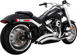 Vance & Hines Big Radius 2-Into-2 Exhaust System