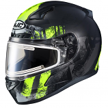 HJC CL-17 Arica Snow Helmets with Electric Shield