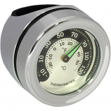 Drag Specialties Bar Mount Thermometer
