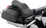 Z1R Low-Profile Double-Bucket Seat with Dual Backrest - Flame Stitch [Warehouse Deal]