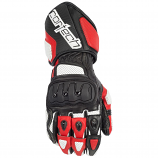 Cortech Impulse RR Gloves (White/Red / Lg) [Warehouse Deal]