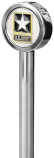 Pro Pad 13in. Stainless Steel Flag Poles with Topper