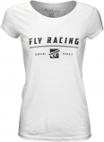Fly Racing Pursuit Vintage Womens T-Shirt