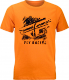 Fly Racing Crayon Youth T-Shirt
