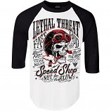 Lethal Threat Not 4 Slow 3/4 Sleeve Shirt