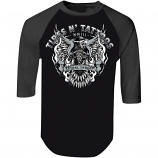 Lethal Threat Tires N Tattoo Eagle 3/4 Sleeve Shirt