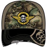Lethal Threat Army Skull Hat
