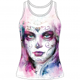 Lethal Threat Painted Soul Womens Tank Top