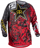 Fly Racing Kinetic Rockstar Jersey (2018) (XL) [Warehouse Deal]