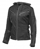Speed & Strength Street Savvy Womens Leather/Textile Jacket