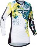 Fly Racing Kinetic Girls Youth Jersey (2017)