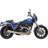 Bassani Manufacturing Road Rage 3-Stepped 2-Into-1 Exhaust System