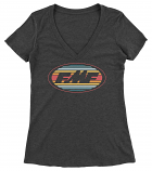 FMF Racing Rip It V-neck Womens T-Shirt