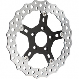 Arlen Ness 11.8in. Jagged Front/Rear Rotor [Warehouse Deal]