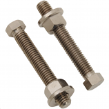 Works Connection Titanium Axle Adjuster Bolts